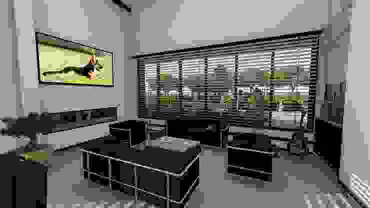 sala Salas de estilo minimalista de TITANIUM ARQUITECTOS S.A.S. Minimalista