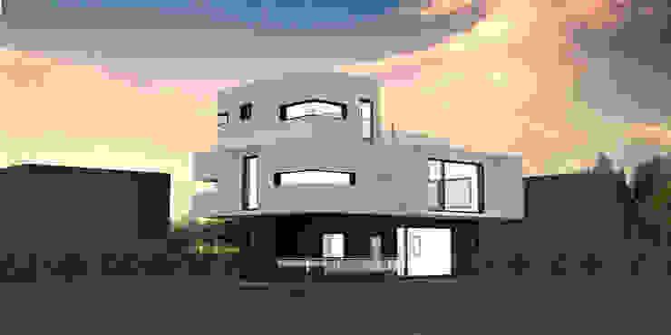 서귀포시 강정마을 전원주택 전면 56평 파사드 디자인 by 디자인 이업 모던 세라믹