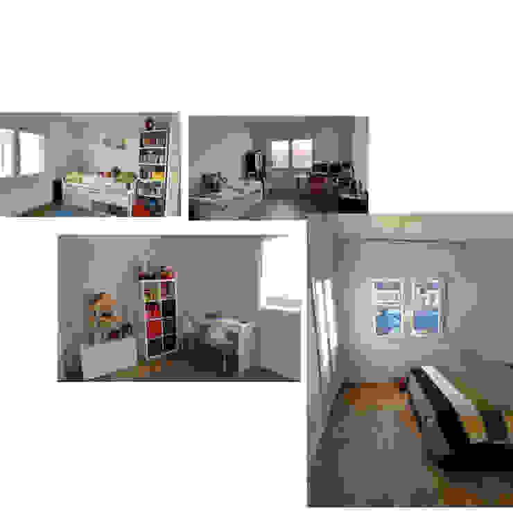 Universal Group ห้องนอนขนาดเล็ก White