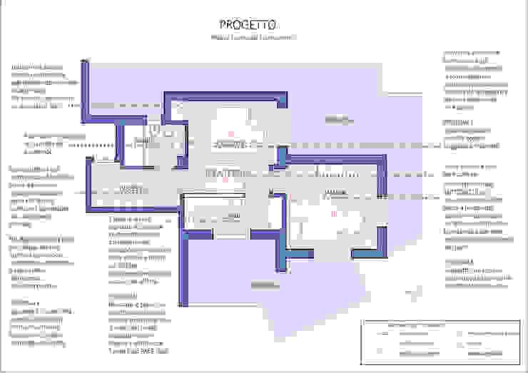 Progetto d'arredo online - La pianta di Arch. Sara Pizzo - Studio 1881 Scandinavo