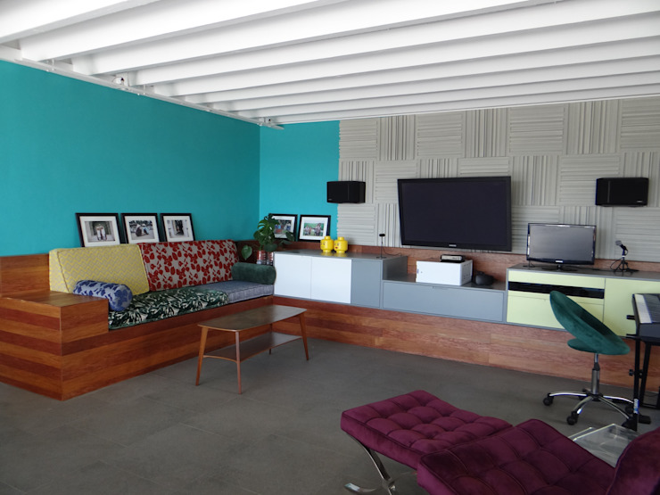 After - A bold and colourful space by Turquoise