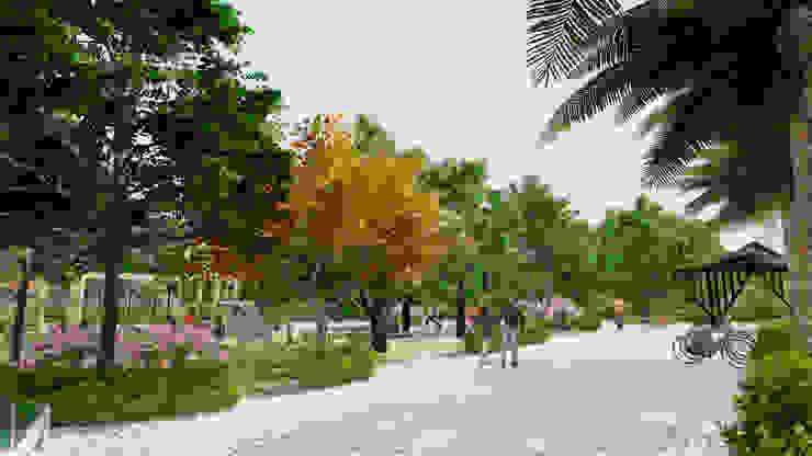 KHU CÔNG VIÊN THỂ THAO TẬP GYM bởi Kiến trúc Việt Xanh
