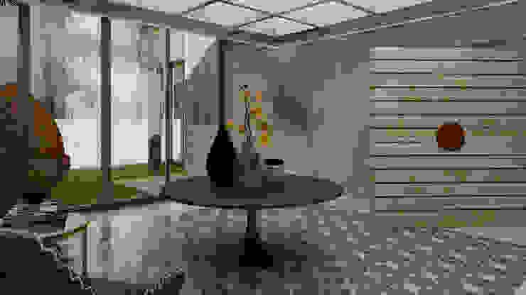 Recibidor Casa 10 x 10 CONCEPTO JORU Pasillos, vestíbulos y escaleras escandinavos