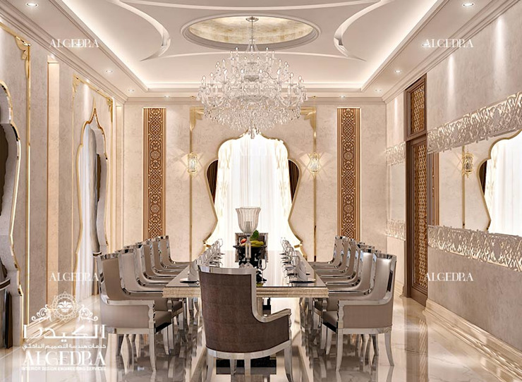 Luxury Dining Room Designs In Dubai Homify