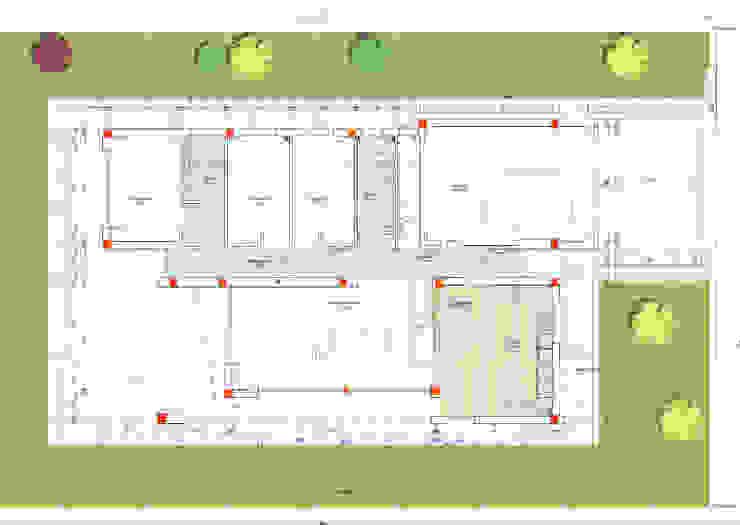 PLANTA TIPUS - PLANTA TIPO de FARRIOL i COL.LABORADORS arquitectes Moderno