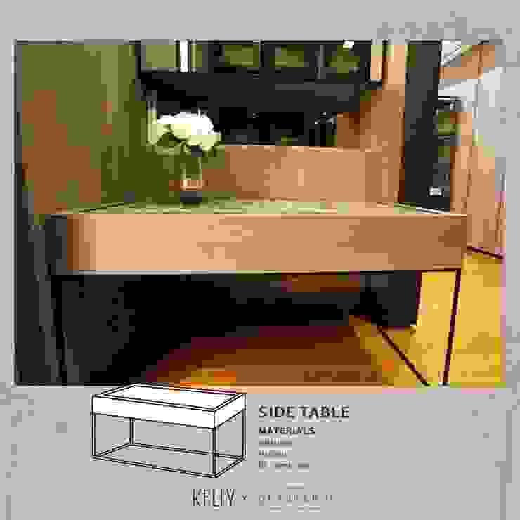 SIDE TABLE (Build In): ผสมผสาน  โดย บริษัท โกลบอล สปริง จำกัด, ผสมผสาน หินอ่อน