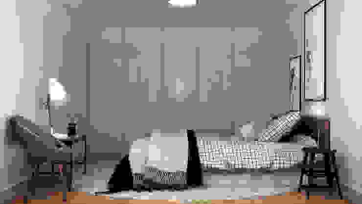 3D Render   Interiores DUO Interactive Quartos modernos