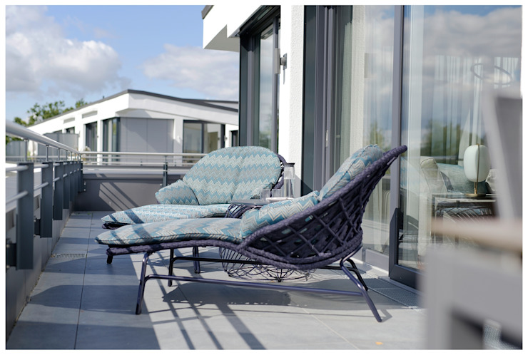 großer Balkon Heerwagen Design Consulting Balkon