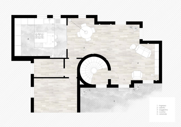 Planimetria di viemme61 Moderno