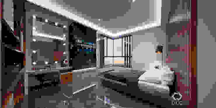 Casa GA: Recámara Principal Dormitorios modernos de Constructora OCC Moderno