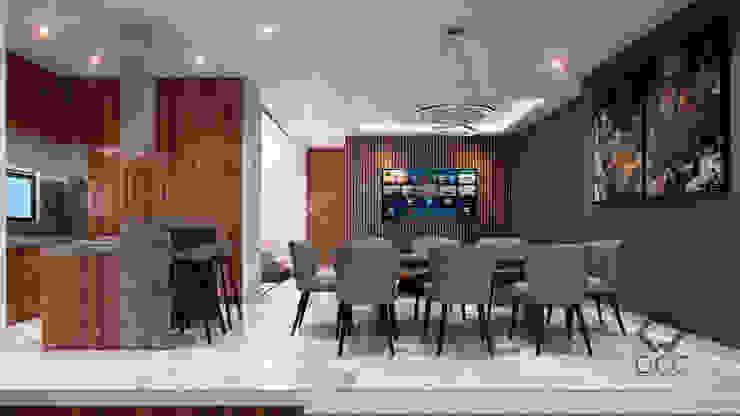 Casa GA: Comedor Comedores modernos de Constructora OCC Moderno