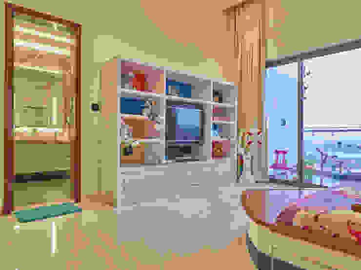 CROWN AURA KEJRIWAL RESIDENCE | BANGALORE Modern Kid's Room by DUTTA KANNAN & PARTNERS Modern Marble
