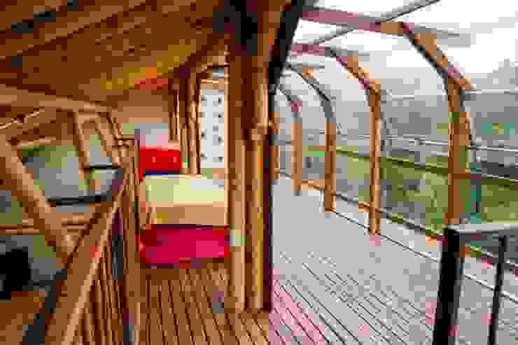 Aprovechar las vistas de Hauzer Arquitectura Tropical Bambú Verde