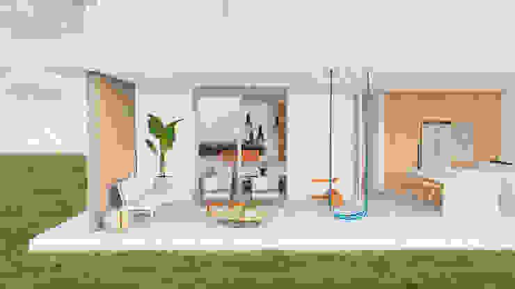 Projeto para Residência em Condomínio de Praia ZOMA Arquitetura