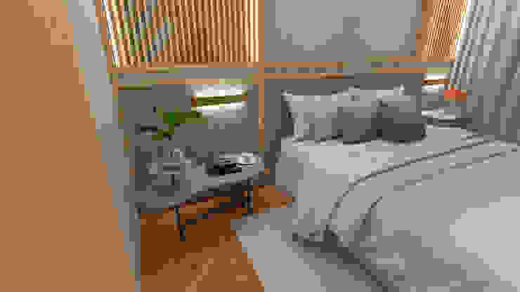 Projeto para Casa de Conteiner Quartos modernos por ZOMA Arquitetura Moderno
