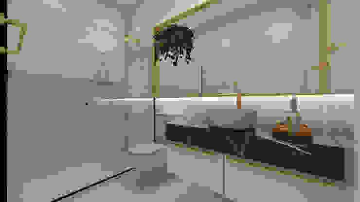 Projeto para Casa de Conteiner Banheiros modernos por ZOMA Arquitetura Moderno