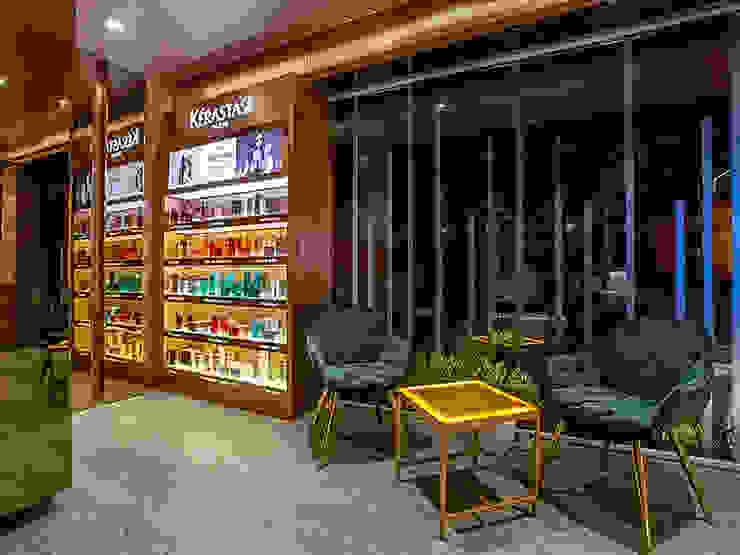 BLOWN   MUMBAI: modern  by DUTTA KANNAN & PARTNERS, Modern Engineered Wood Transparent