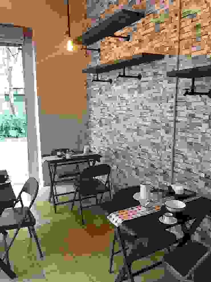 Salón principal, Cafetería María Dulzura CONCEPTO JORU Gastronomía de estilo industrial