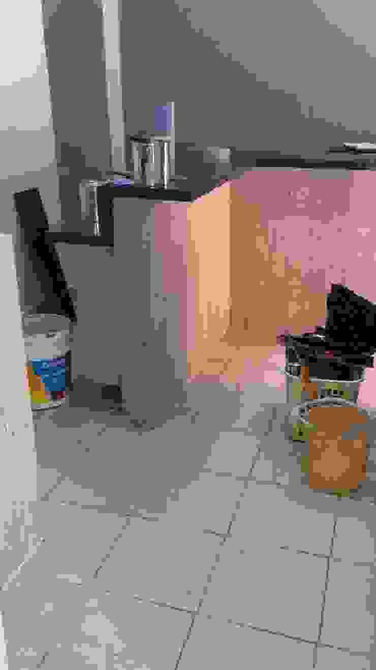 Barra de cocina, Cafetería María Dulzura CONCEPTO JORU CocinaAlmacenamiento y despensa Granito