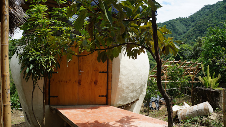 Buenos materiales de Hauzer Arquitectura Tropical Bambú Verde