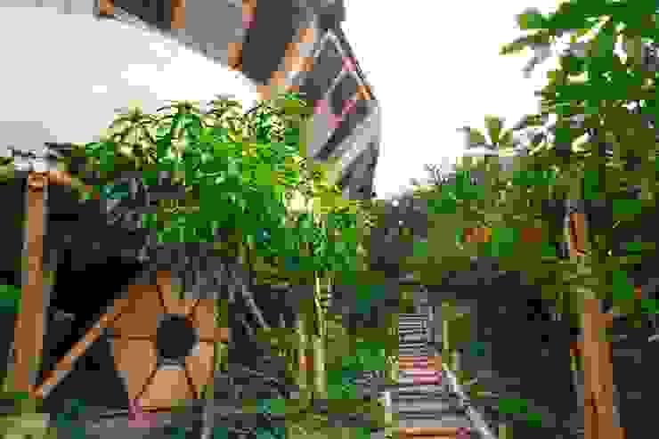 Tranquilidad de Hauzer Arquitectura Tropical Bambú Verde