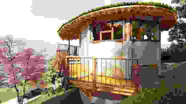 Entorno Natural de Hauzer Arquitectura Tropical Bambú Verde