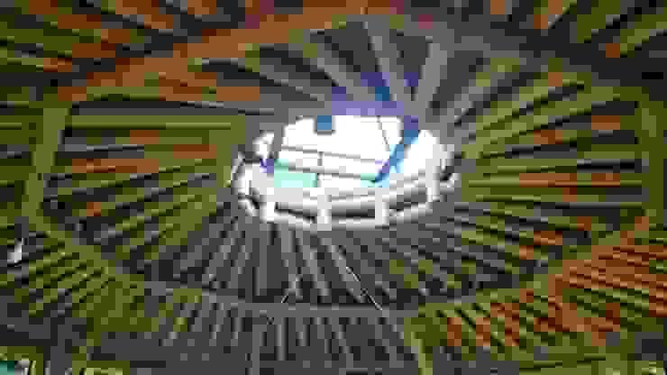 Simbolismo de Hauzer Arquitectura Tropical Bambú Verde