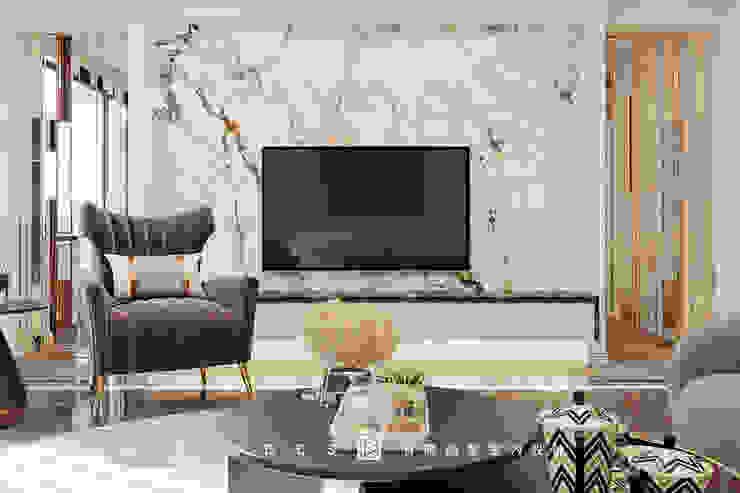 老屋翻新大改造分享-輕奢優雅智慧宅,打造你的全能避風港,落實生活智能,24小時居家防護 根據 有關創意室內設計 古典風 花崗岩