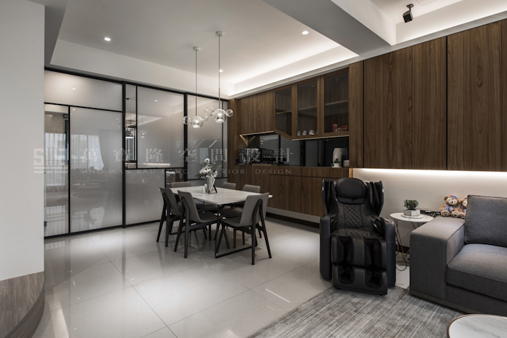 Scandinavian style dining room by SING萬寶隆空間設計 Scandinavian