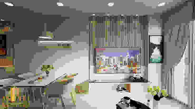 Thiết kế nội thất anh Quý - Sài Gòn Royal bởi AN PHÚ DESIGN & BUILD