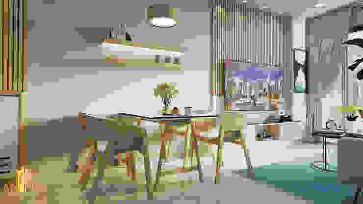 Thiết kế nội thất anh Quý – Sài Gòn Royal bởi AN PHÚ DESIGN & BUILD