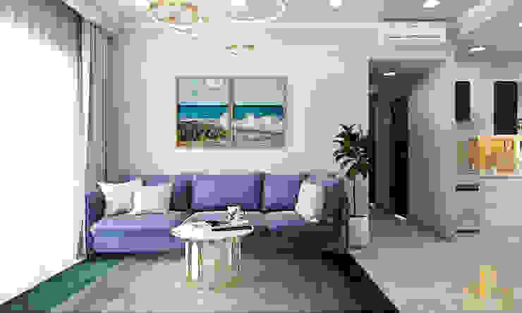 Thiết kế nội thất căn hộ chị Kelly - Sunavanue bởi AN PHÚ DESIGN & BUILD