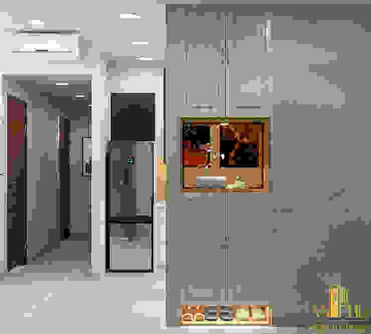 Thiết kế nội thất căn hộ chị Kelly – Sunavanue bởi AN PHÚ DESIGN & BUILD