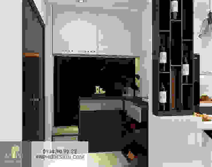 Thiết kế nội thất căn hộ anh Sơn – Kingston Phú Nhuận bởi AN PHÚ DESIGN & BUILD
