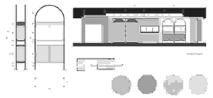 Restyling Negozio 70 mq Negozi & Locali commerciali moderni di Lascia la Scia S.n.c. Moderno Legno Effetto legno