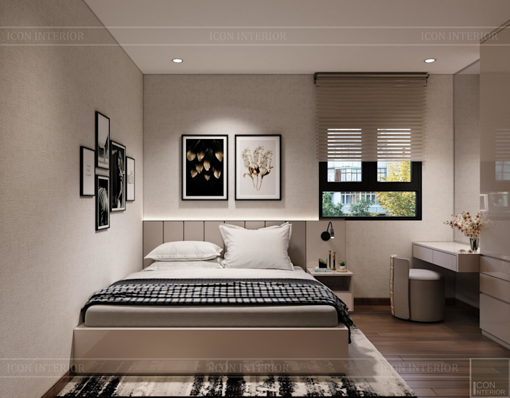 by Thiết kế nội thất ICONINTERIOR Modern