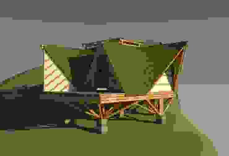 Relevancia de Hauzer Arquitectura Tropical Bambú Verde