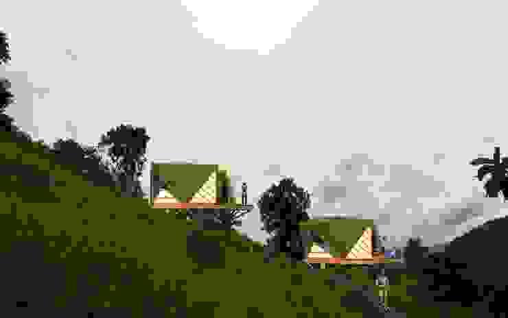 Mímesis de Hauzer Arquitectura Tropical Bambú Verde