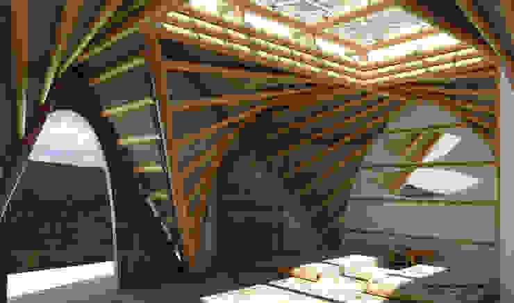 Funcionalidad de Hauzer Arquitectura Tropical Bambú Verde