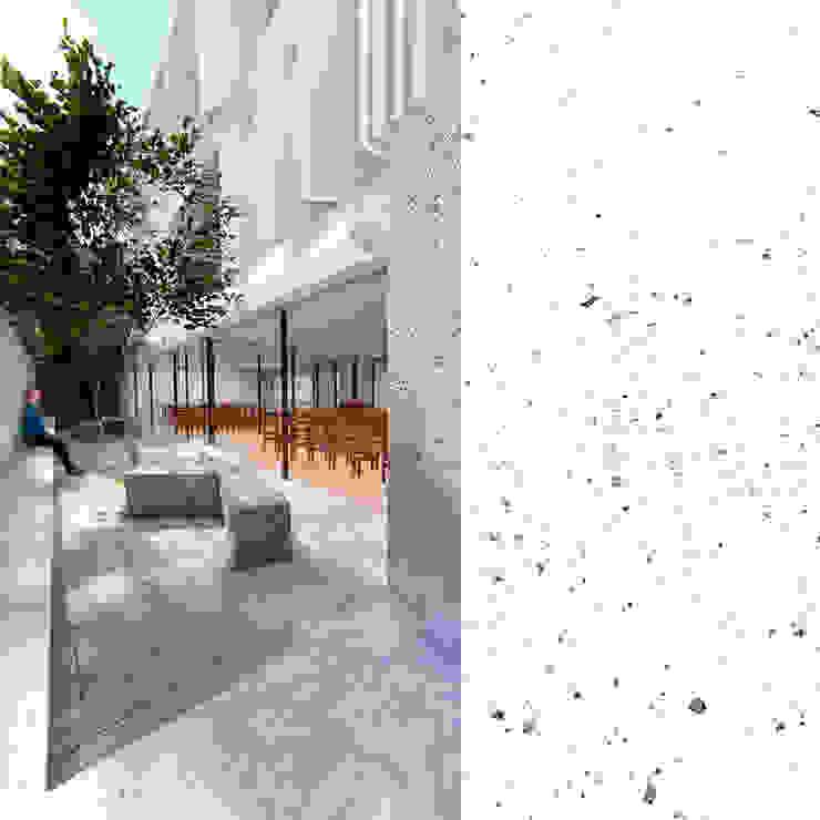 Patio Balcones y terrazas minimalistas de Frank Maguiña Arquitectos Minimalista