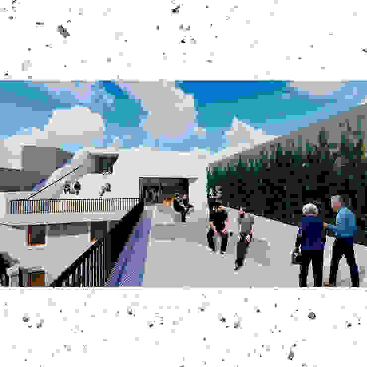 Terraza Balcones y terrazas minimalistas de Frank Maguiña Arquitectos Minimalista