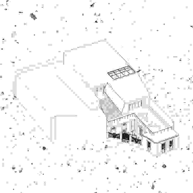 CQFA Casas de estilo minimalista de Frank Maguiña Arquitectos Minimalista