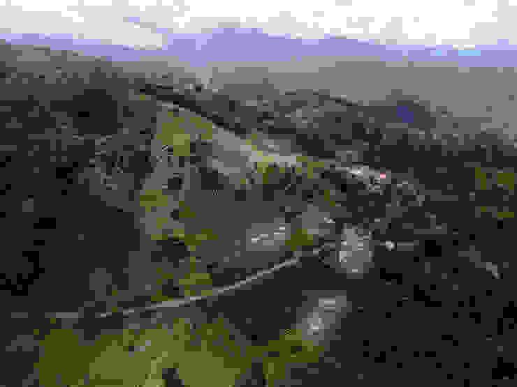Proyección de Hauzer Arquitectura Rural Bambú Verde