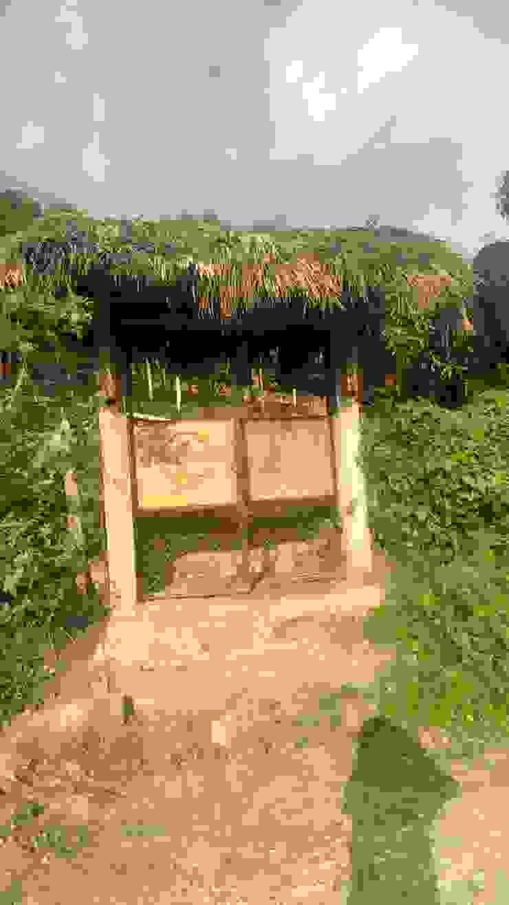 Identidad de Hauzer Arquitectura Rural Bambú Verde