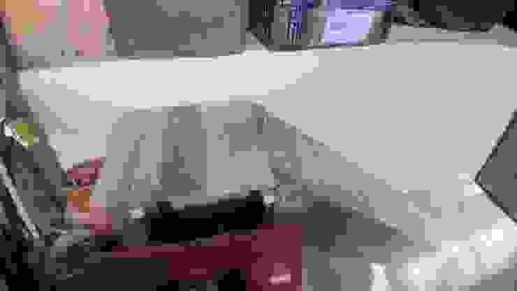 Rampas y escaleras auxiliares de Hauzer Arquitectura Rústico Madera Acabado en madera