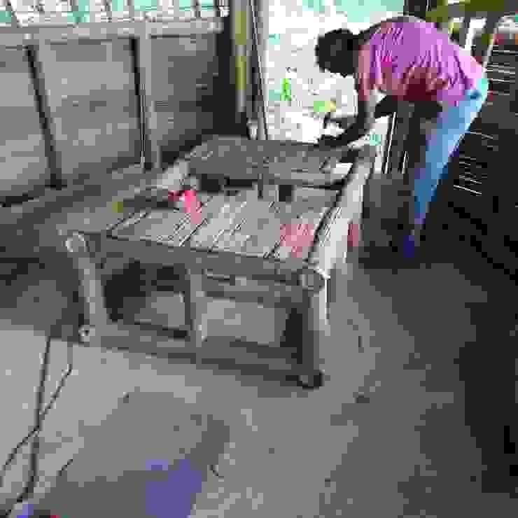 Armarios rústicos de Hauzer Arquitectura Rústico Bambú Verde