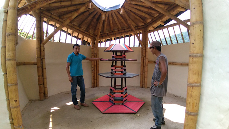 Mostradores de Hauzer Arquitectura Rústico Madera Acabado en madera