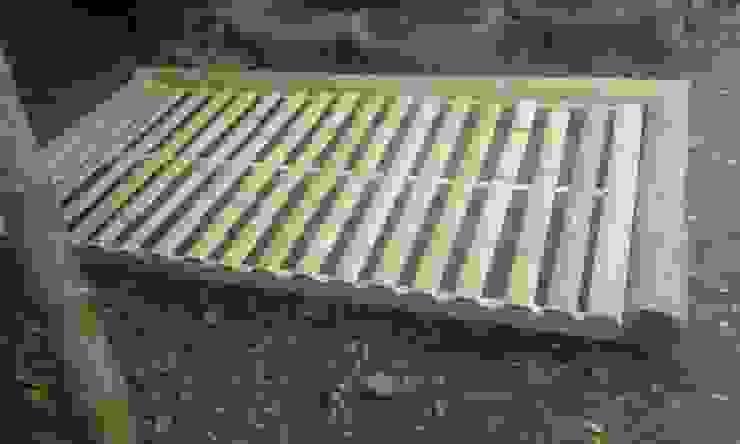 Camas de Hauzer Arquitectura Rústico Bambú Verde
