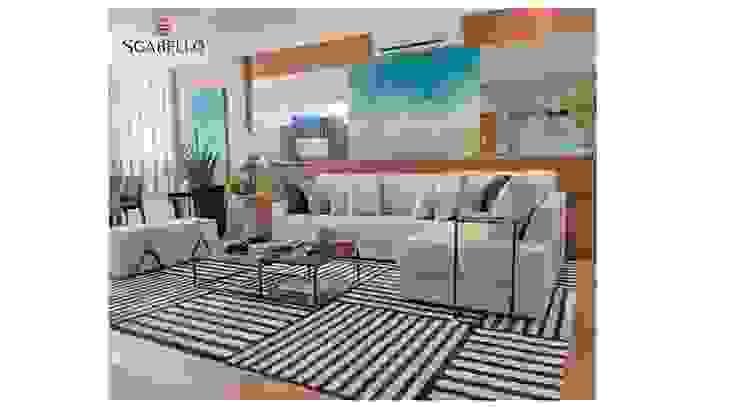 Sgabello Interiores Living roomSofas & armchairs Cotton Blue