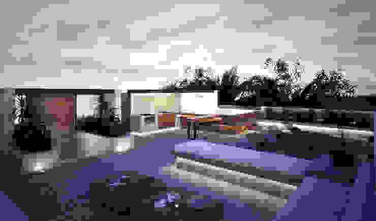 Roof Garden NAOARQUITECTOS Azoteas Concreto Gris